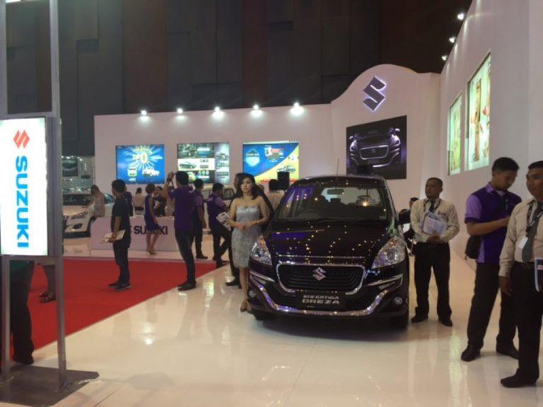 New Ertiga Dreza GS, Ciaz, dan Produk Terbaru Suzuki Hadir di GIIAS Makassar