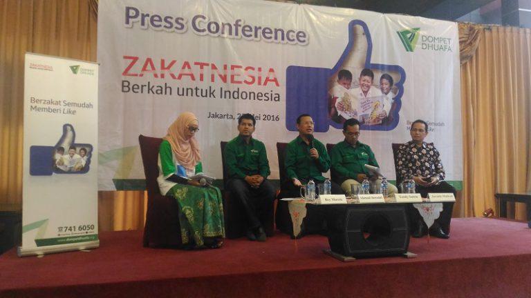 Sambut Ramadhan 1437 H Dompet Dhuafa Kampanyekan Zakatnesia