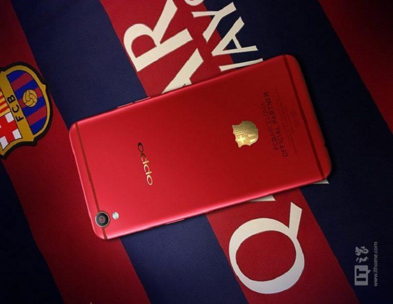 OPPO Godok R9 Versi FC Barcelona
