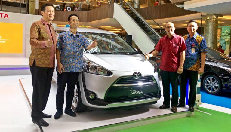 Toyota Sukses Kenalkan All New Sienta di 6 Kota di Indonesia