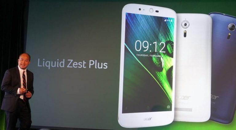 Liquid Zest Plus: Selain Terjangkau, Smartphone Baru Acer ini Pakai Baterai Super Besar 5000 mAh