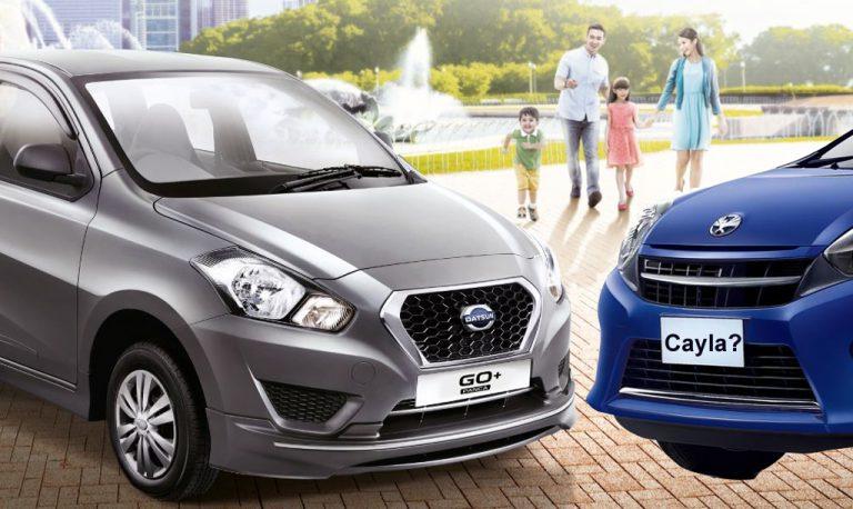 Kepincut Larisnya Low-MPV Datsun GO+, Toyata Siapkan 'Agya 7-Seater'