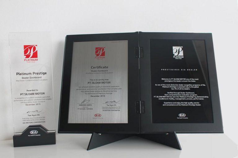 Di Platinum Dealer Awards, Kia Siloam Bandung Raih Skor Evaluasi Tertinggi di Asia