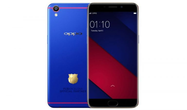 Setelah Advan, Giliran Oppo Rangkul Barcelona Rilis Smartphone F1 Plus Barcelona Edition