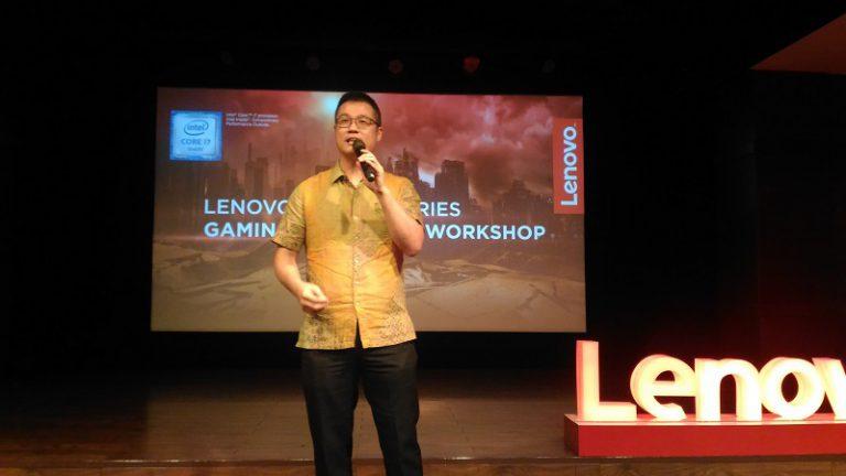 Gelar Gaming for Living, Lenovo Perlihatkan Amunisi Baru untuk Gamer Tanah Air