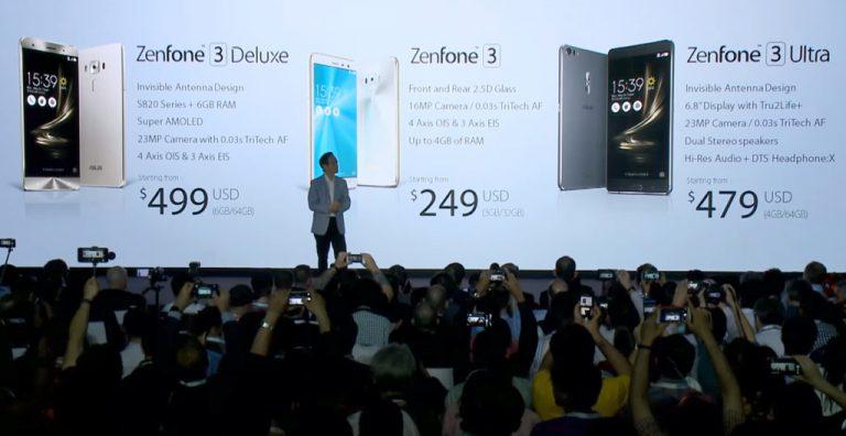 Peralihan Gradual dari Platform Intel ke Qualcomm akan Ditempuh Asus, Dimulai dari Seri Zenfone 3