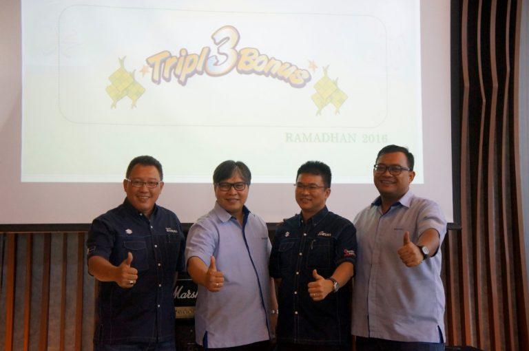 Untuk Ramadhan dan Mudik Lebaran, Suzuki Manjakan Konsumennya dengan Promo Tripl3Bonus