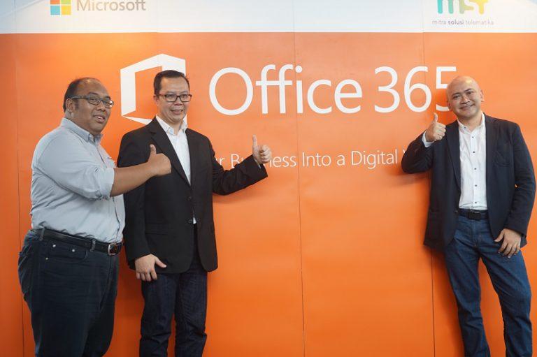 Mitra Solusi Telematika Gandeng Microsoft, Implementasikan Office 365