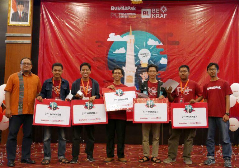 Digelar Ketiga Kalinya, Bukalapak Programming Contest Uji 'Coding Skill' Mahasiswa di Yogyakarta