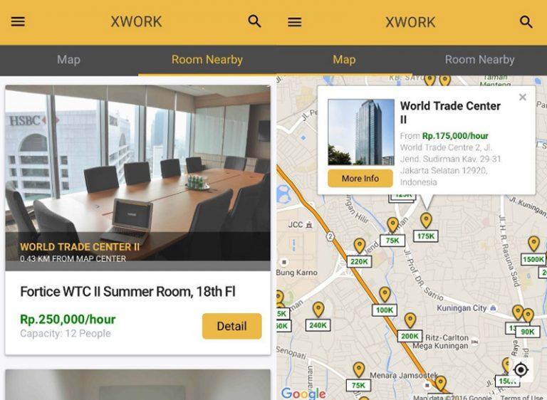 XWORK: Tawarkan Layanan Pesan Ruang Meeting yang Ekonomis, Mudah, dan Cepat