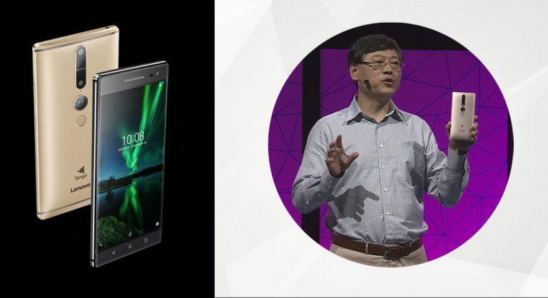 Harga US$ 499, Lenovo Phab 2 Pro Jadi Smartphone Project Tango Pertama di Dunia