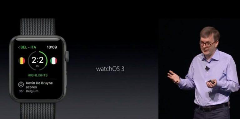 Apple watchOS 3: Performa Jauh Lebih Cepat, Multitasking Dock, Scribble, dan Watchface Baru