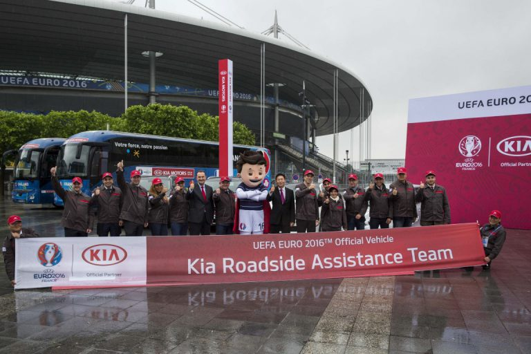 Kia Hadirkan 447 Unit Kendaraan untuk Kebutuhan Official Piala Eropa 2016