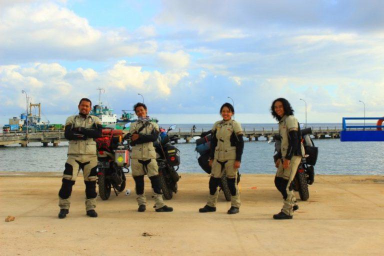 Jelajah Indonesia Timur, Tim TVS Eastcapade Expedition Sudah Tempuh 3.000 Km Dalam 35 Hari