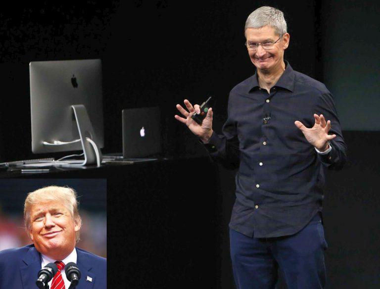 Faktor 'Trump' Jadi Alasan Apple Cabut Dukungannya ke Partai Republik?