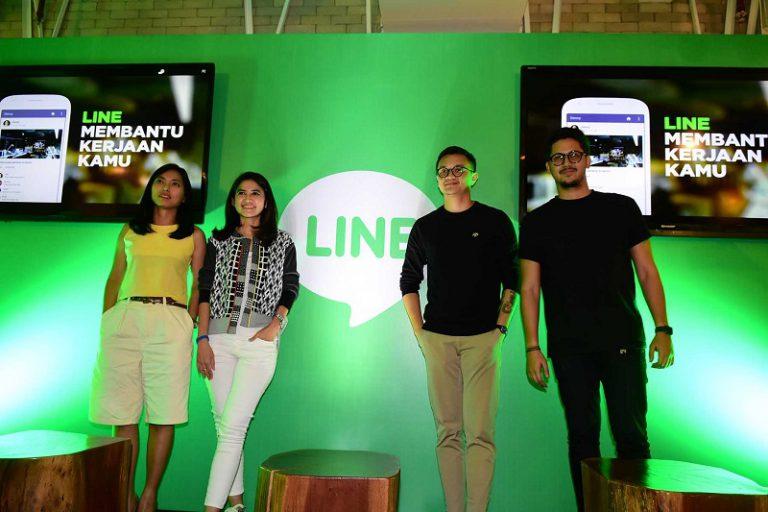 Hadirkan Beragam Fitur Menarik, LINE Rambah Pekerja Profesional