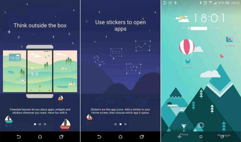 HTC Tawarkan Sense Home 8 Launcher untuk Smartphone Android Non-HTC