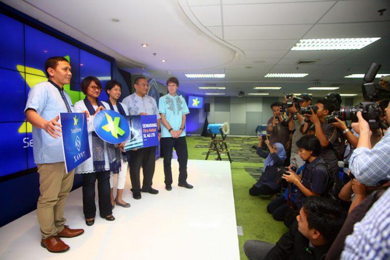 Layanan 4G LTE XL Sudah Hadir di Semarang