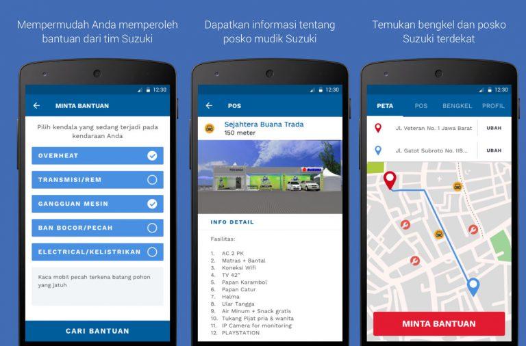 Mudahkan Pemudik, Suzuki Hadirkan Aplikasi Mudik di Android