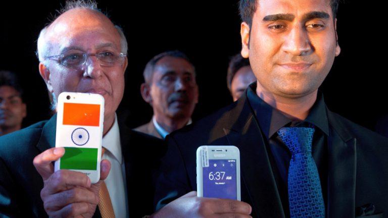 Smartphone 'Made in India' Termurah di Dunia Resmi Dipasarkan