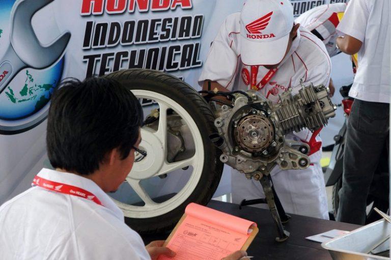 Astra Honda Motor Kembali Gelar Kompetisi untuk Mekanik dan Service Advisor