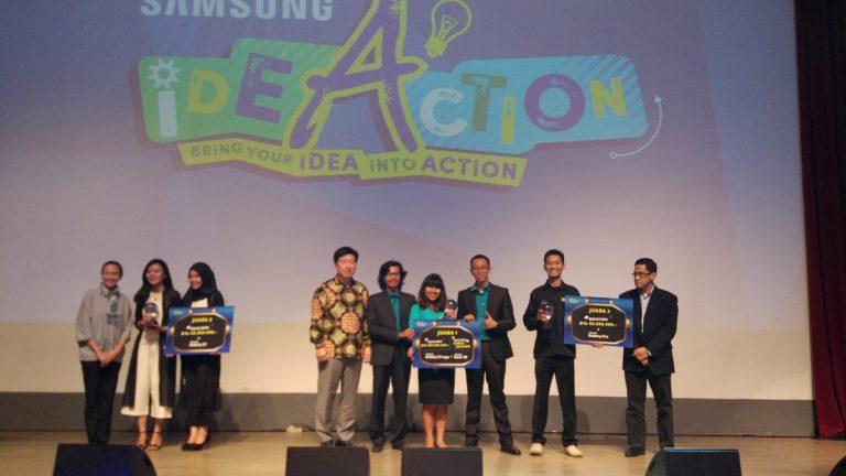 Taskanizer dari Pro Thinker Raih Juara Pertama di Samsung IdeAction 2016