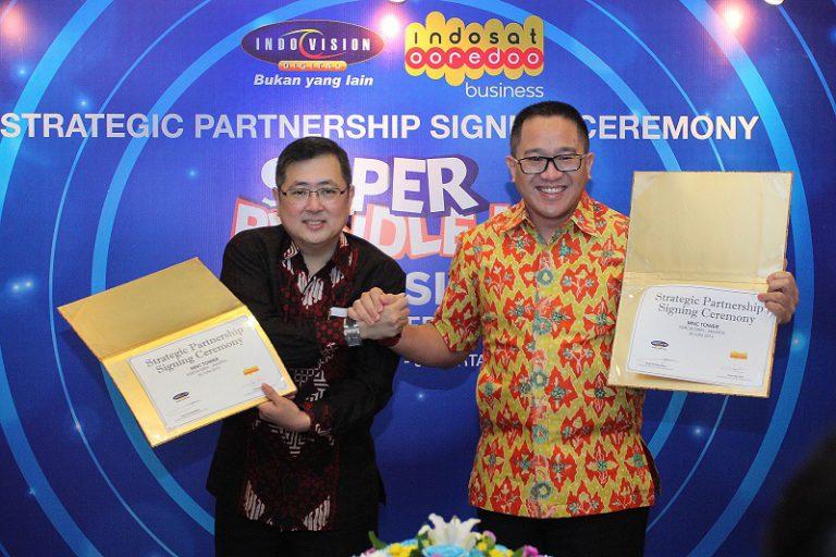 """Indosat Ooredo Jalin Kerja Sama dengan Indovision, Hadirkan """"Super Bundle"""""""