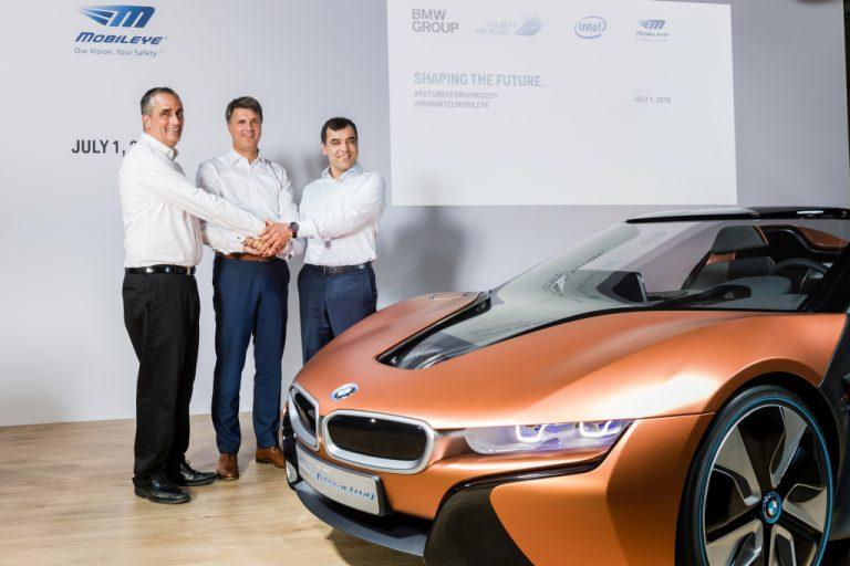 Intel, BMW, dan Mobileye Janjikan Mobil Otonom Siap Lima Tahun Lagi