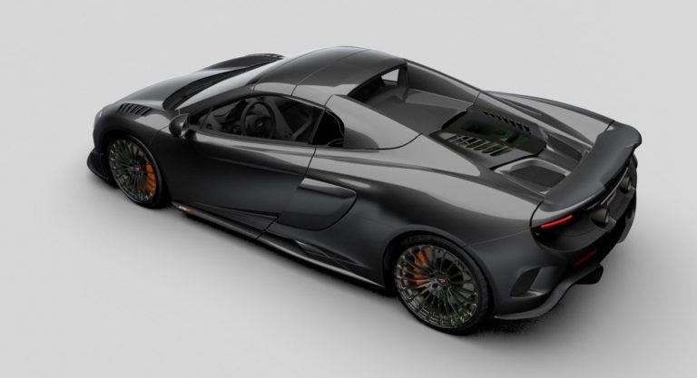 Hampir Separuh Mobil McLaren ini Terbuat dari Serat Karbon