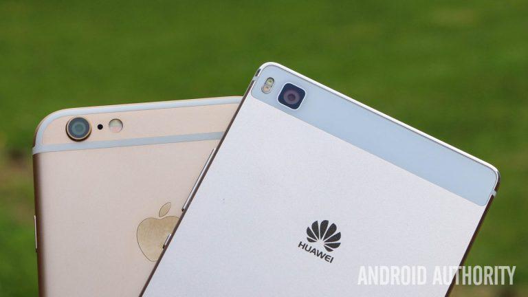 Huawei Geser Pangsa Pasar iPhone di Tiongkok