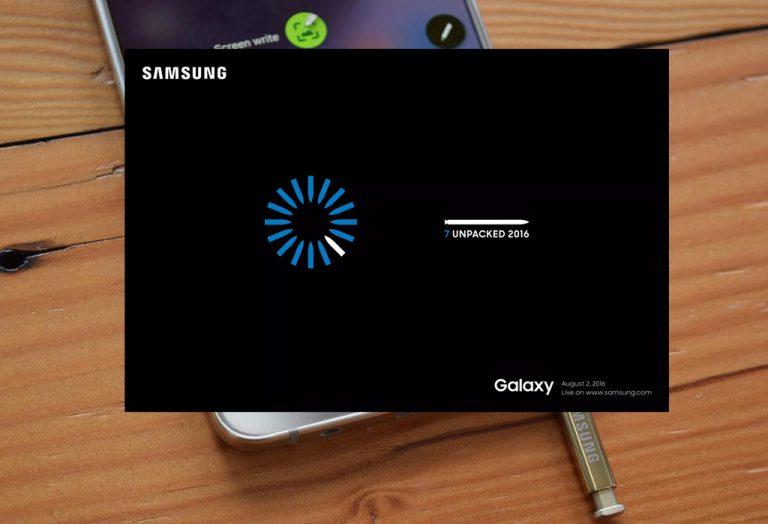 Samsung Akhirnya Tentukan Jadwal Resmi Peluncuran Galaxy Note 7