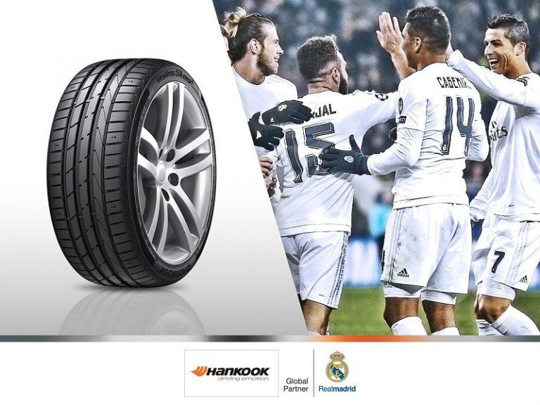 Sponsor Real Madrid FC, Brand Hankook Tire Muncul di Santiago Bernabeu
