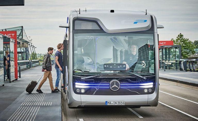 Mercedes Kembangkan Bus Otonom Masa Depan dengan teknologi CityPilot