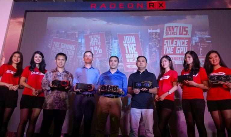 Gaming 1440p dan Premium VR Experience Jadi Daya Pikat Utama Hadirnya Radeon RX 480 di Indonesia