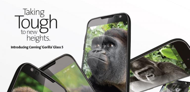 Jatuh dari Ketinggian 1,6 m? Dengan Gorilla Glass 5, Corning Janjikan Layar Smartphone Tidak Pecah