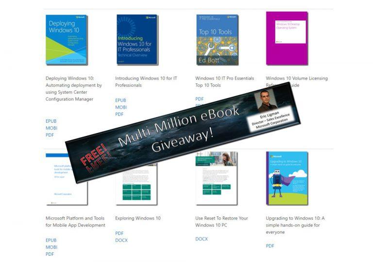 Bagi-Bagi e-Book Gratis Kembali Digelar Microsoft!
