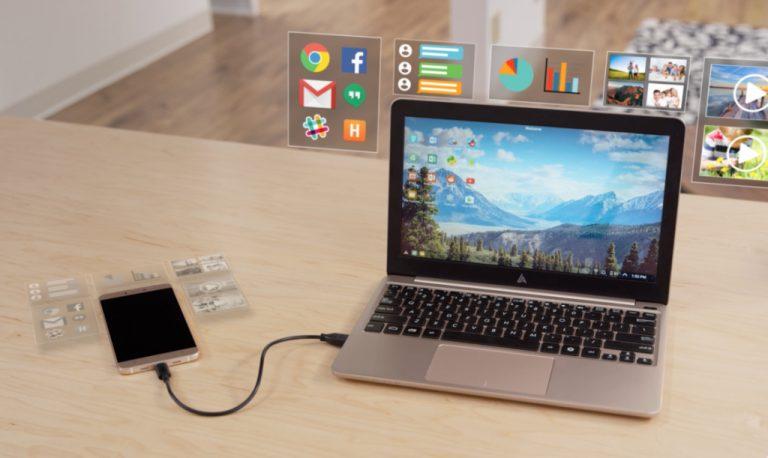 'Dumb Terminal' ini Mengubah Smartphone Android Menjadi Sebuah Laptop