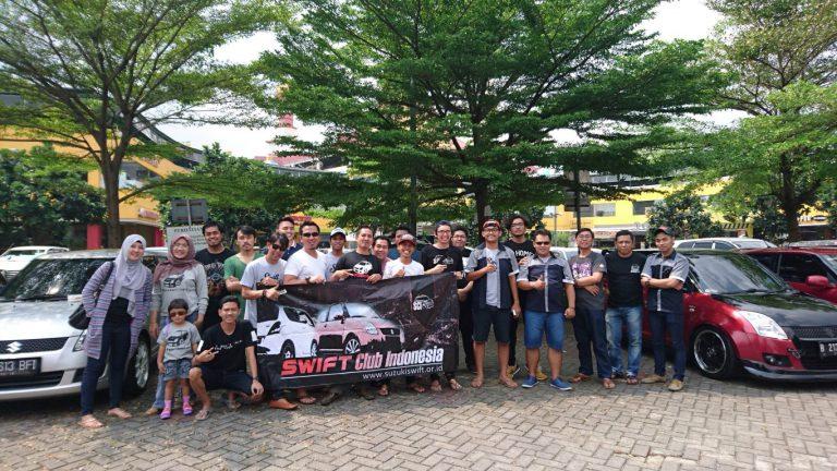 Komunitas Suzuki Swift Indonesia Rayakan Hari Jadi Ke-9 Sekaligus Berhalal Bi Halal