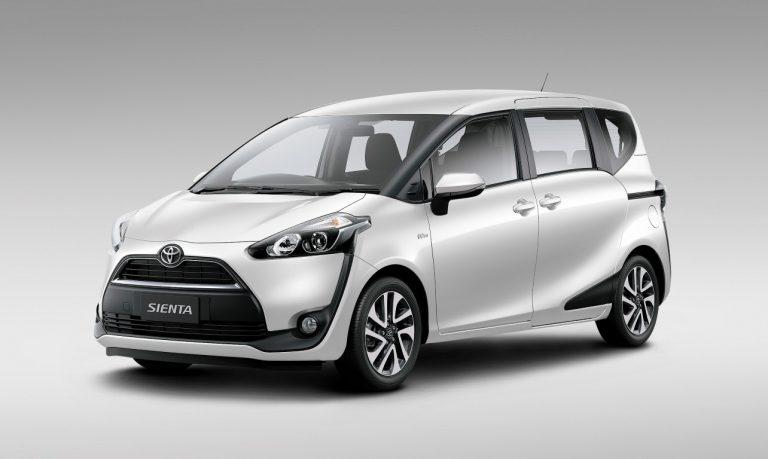 Ini Dia Harga dan Bedanya Toyota Sienta Tipe E, G, V, dan Q