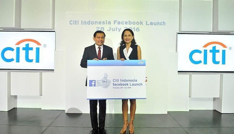 Gandeng Facebook, Citi Indonesia Luncurkan Fasilitas Pelayanan Digital Banking