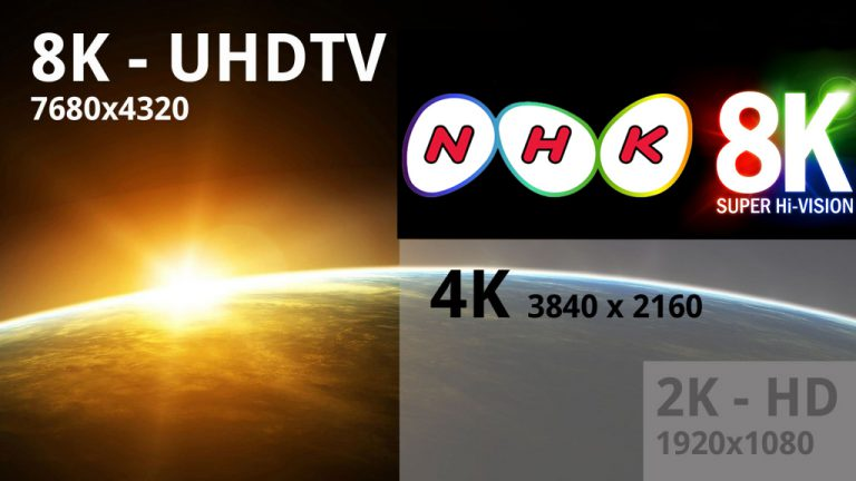 NHK Rintis Siaran TV Pertama di Dunia dalam Resolusi 8K