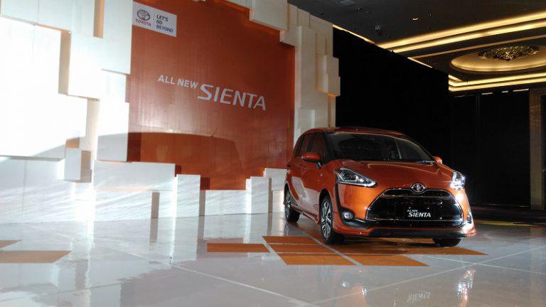 Sienta dan Calya, Primadona Toyota di Ajang GIIAS 2016