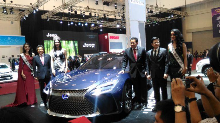 Ramaikan GIIAS 2016, Lexus Perlihatkan Mobil Masa Depannya