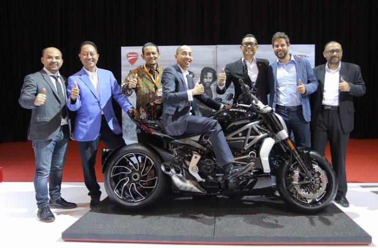 Perdana di GIIAS, Ducati Perkenalkan Keluarga Hyper dan Diavel Terbaru
