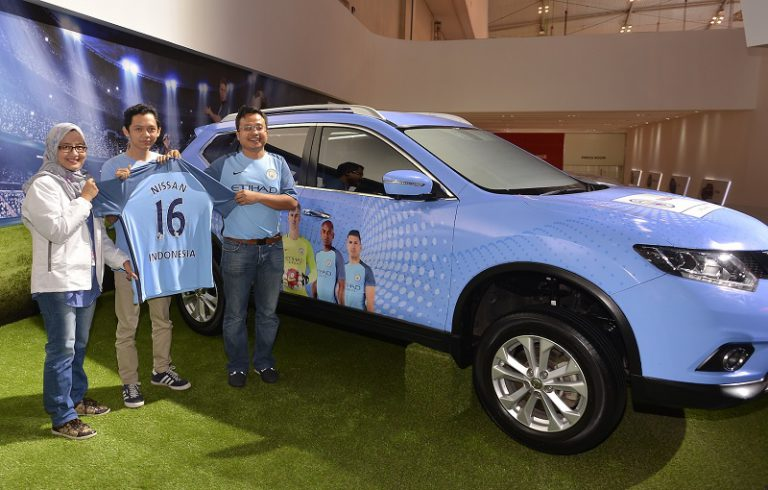 Kemitraan Nissan dan Manchester City Dibawa Ke Indonesia