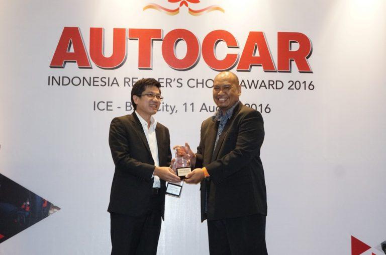 Lima Mobil Toyota Sabet Penghargaan di ARCA 2016