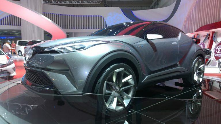 Tiga Mobil Masa Depan Toyota Nongkrong di GIIAS 2016