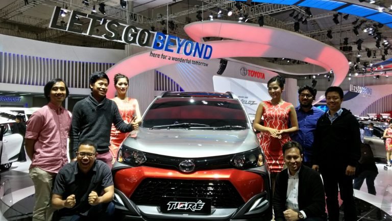 Apresiasi Keinginan Pengunjung, Toyota Tampilkan 8 Lini Produk Kendaraan Dress-Up