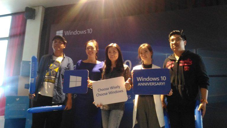 Windows 10 Anniversary di Mata Pelaku Kreatif Tanah Air