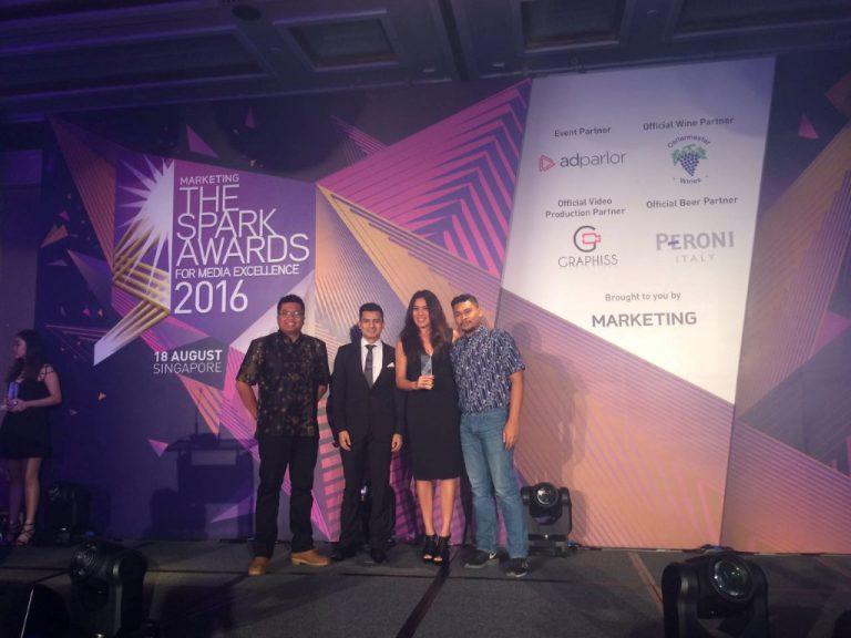 Bolalob.com Raih Tiga Penghargaan dalam Spark Awards Asia Pasifik